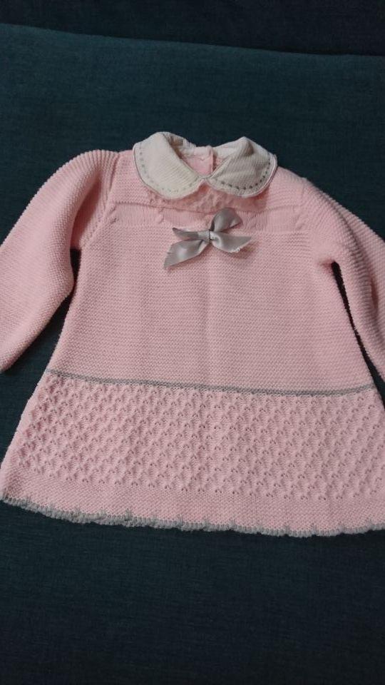 Vestido Tejido Bebe Talla 3 Meses 3x2 En Ropa De Segunda
