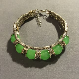 Jade bangle NEW