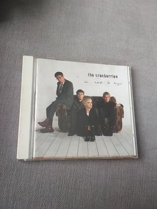 CD original The Cramberries. No need to argue