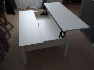 Mesa salón abatible