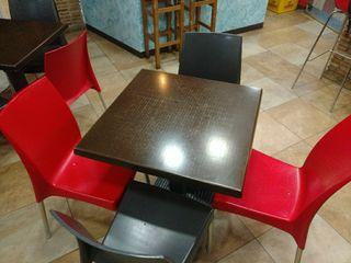 5 Mesas y sillas bar