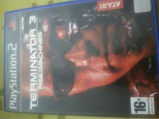 Play Station 2 Terminator 3 rise of the machines