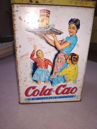 Lata vintage Cola Cao