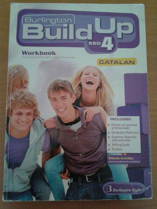 Libro Inglés 4 ESO Burlington Build Up Catalan