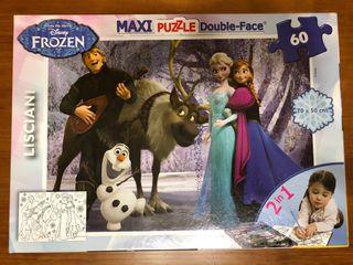 MaxiPuzzle Frozen 2 en 1 de Disney.