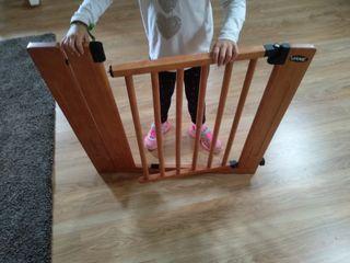 valla de seguridad para escalera
