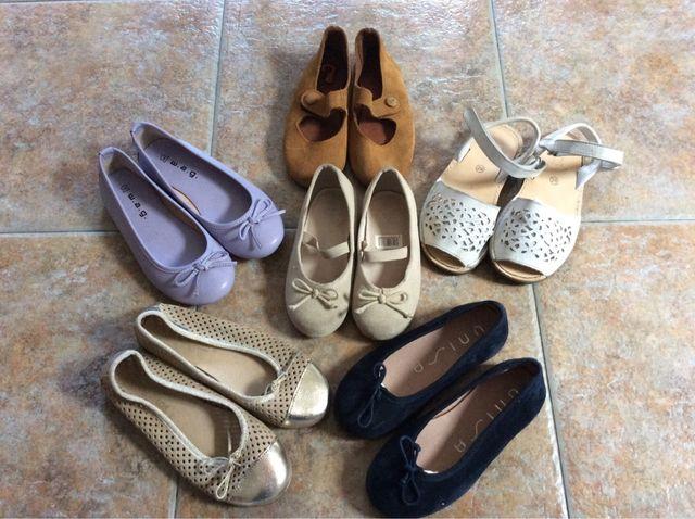 b7834684aa0 Zapatos niña tallas 26/30.Buen estado. de segunda mano por 5 € en ...