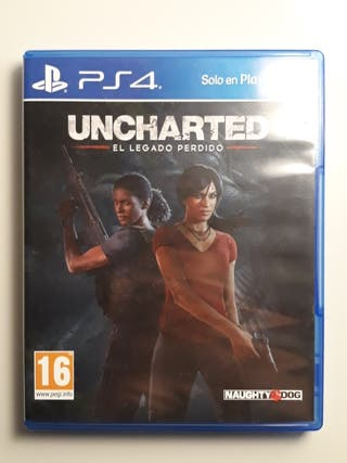 """Juego ps4; """"Uncharted"""""""