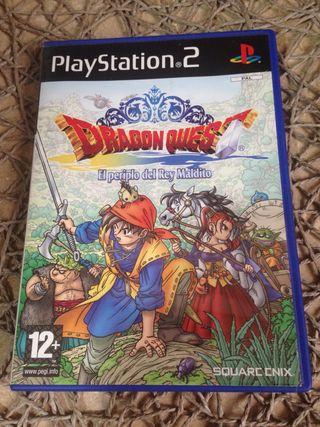Dragon Quest- El periplo del Rey Maldito. PS2.