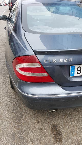 Mercedes-benz CLK 2002