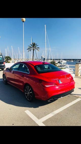 Mercedes-benz Clase CLA Rojo