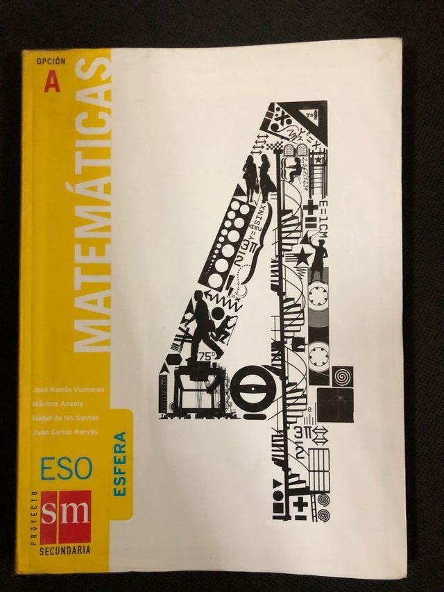 Libro Matematicas 4ESO