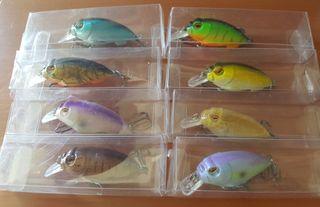 Señuelos de pesca crankbaits artificiales