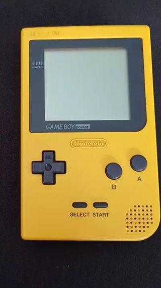 game boy pocket amarilla
