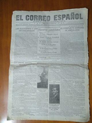 periodicos con 100 años de antigüedad