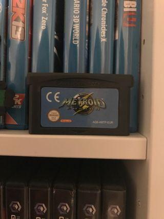 Metroid Fusion GBA