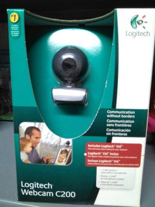Webcam C200 sin estrenar