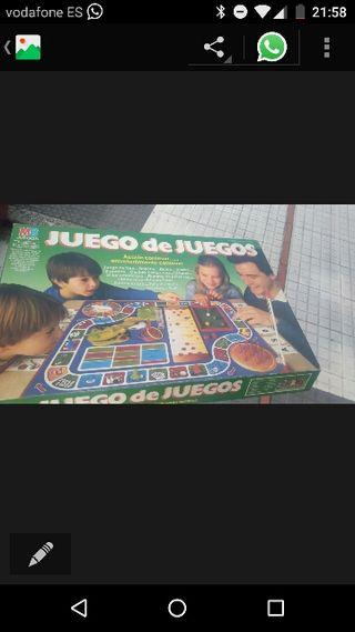 antiguo juego de mesa juego de juegos