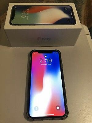 iphone x , 256gb , space grey.