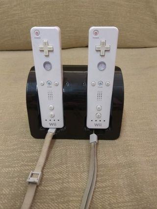 Cargador mando Wii