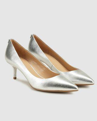 Zapatos plateados Michael Kors