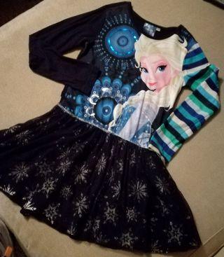 Vestido Desigual Frozen