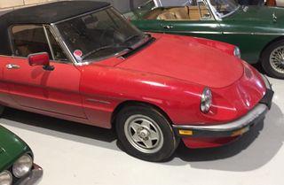 Alfa Romeo Spider Aerodinamica 1986