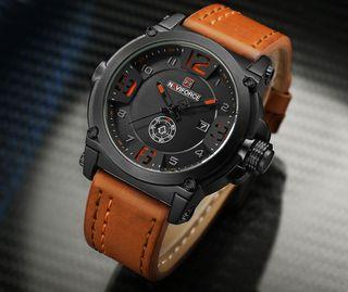 Reloj NAVIFORCE militar brown para hombre