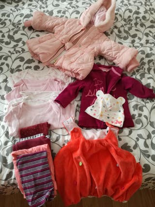 lote ropa bebe niña 3-6m