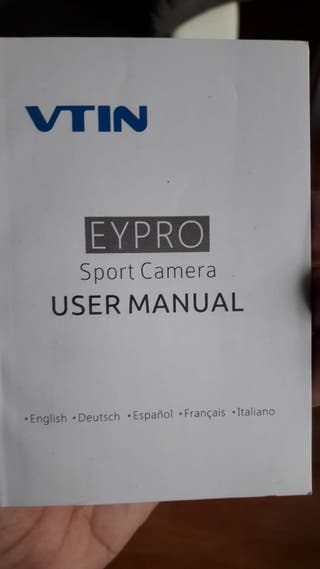 Eypro sport camara