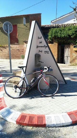 Bicicleta ciclismo carretera bh zaphire