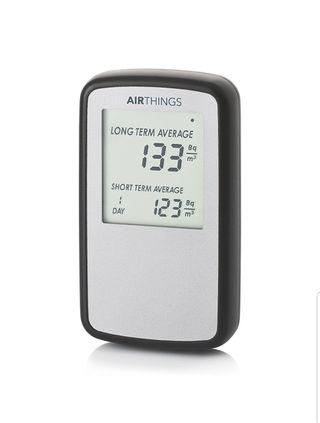 Monitor digital de radón