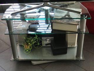 Mesa de cristal multifuncional