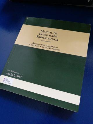 Manual de Legislación Farmacéutica