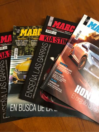 Lote de revistas Marca 2017