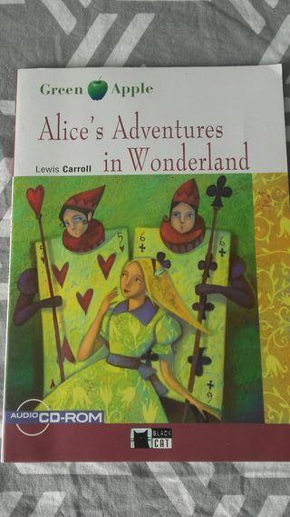 libro de Ingles de Alice's adventures in wonderla