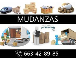 MUDANZAS Y TRANSPORTE DE TODO TIPO A BUEN PRECIO