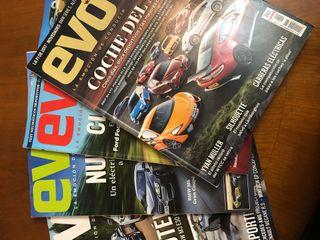Lote de revistas Evo 2017