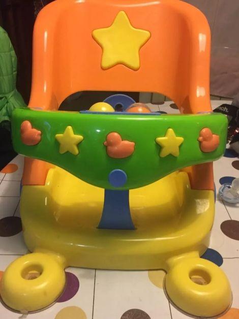 silla bañera