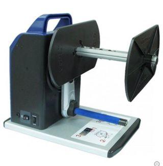 impresora de etiquetas con enrollador
