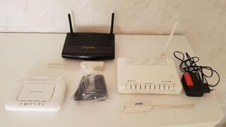 vendo 3 router 1 jazztel y 2 de moviestar 15 € los