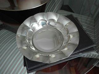 plato baño de plata