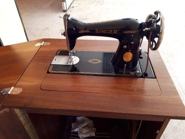 Maquina coser singer con mueble de segunda mano por 140 - Segunda mano pamplona muebles ...