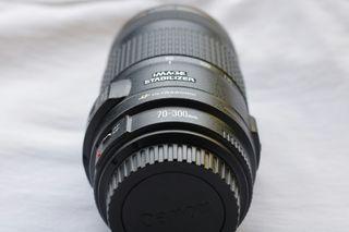 Alquiler objetivo Canon 70-300