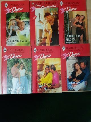 Libros Harlequin Deseo