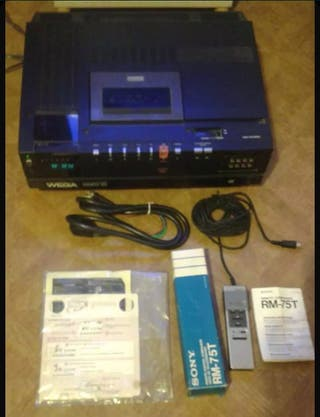 Antiguo Reproductor De Video wega Betamax