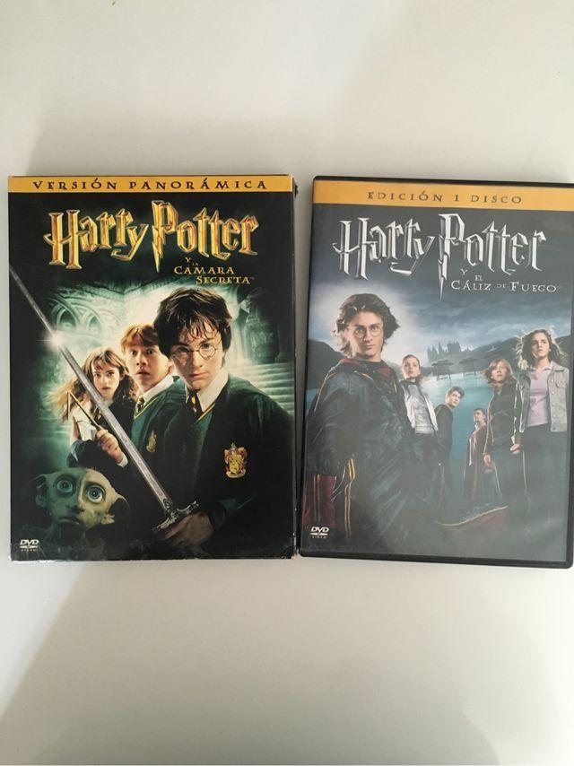Peliculas harry potter DVD de segunda mano por 4 € en Paracuellos de ...