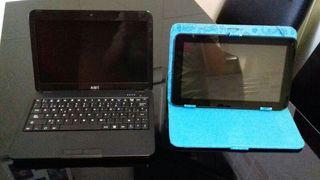 """ordenador de 10 """" y tablet de 9"""""""