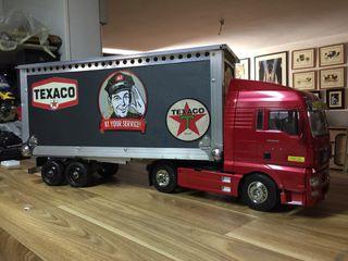 Camión tamiya remolque rc