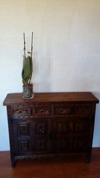 Precioso mueble entrada de segunda mano por 79 en santany en wallapop - Mueble entrada segunda mano ...